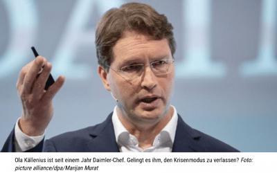 Bei Daimler regiert Mister Krise