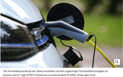 Deutschland ist Patent-Weltmeister in Sachen E-Mobilität