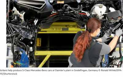 German car industry gets cold shoulder from Berlin