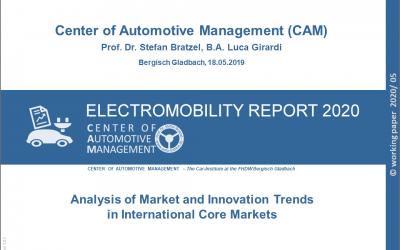 Electromobility Report 2020 jetzt verfügbar!