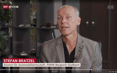 Schweizer Fernsehen: Volkswagen und Elektromobilität