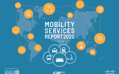 Webinar: Mobility Services Report 2020